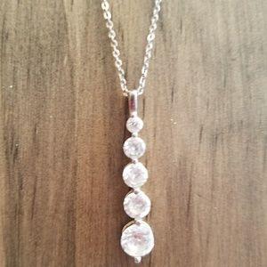 925 CZ Pendant Necklace